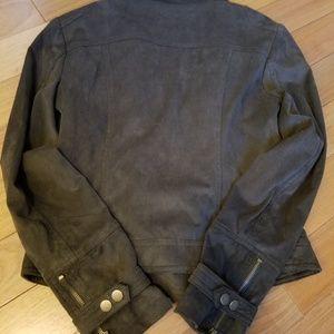 BNCI Jackets & Coats - BNCI by Blanc Noir Motor Jacket. Olive Green M